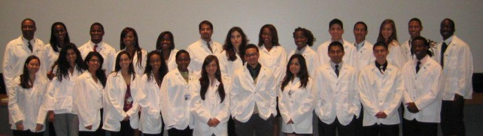 SMDEP Columbia 2011 White Coat Ceremony6